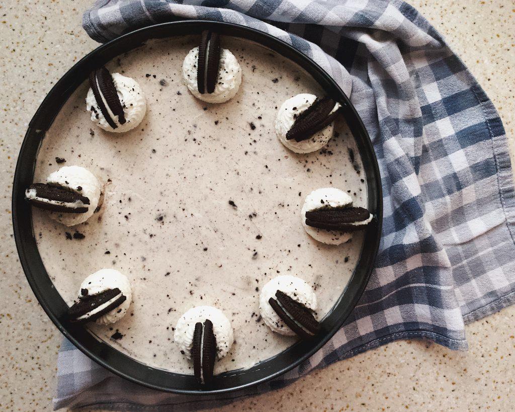 Cheesecake fredda Oreo