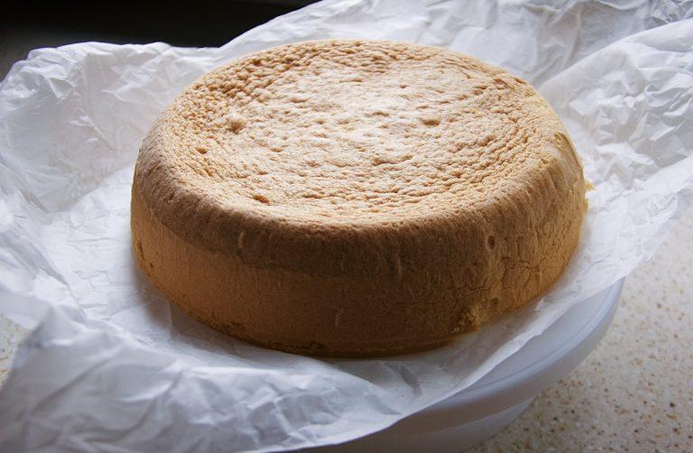Pan di Spagna alto e soffice