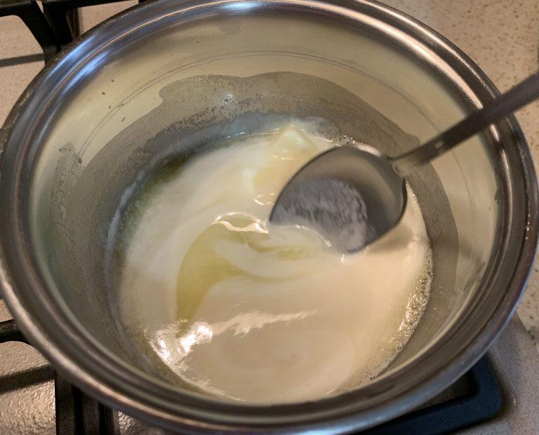 Cheesecake fredda ai lamponi